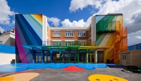 Un colegio de colores mis gafas de pasta ya no est n de moda - Interior design schools in alabama ...