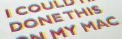 tipografía handcraft