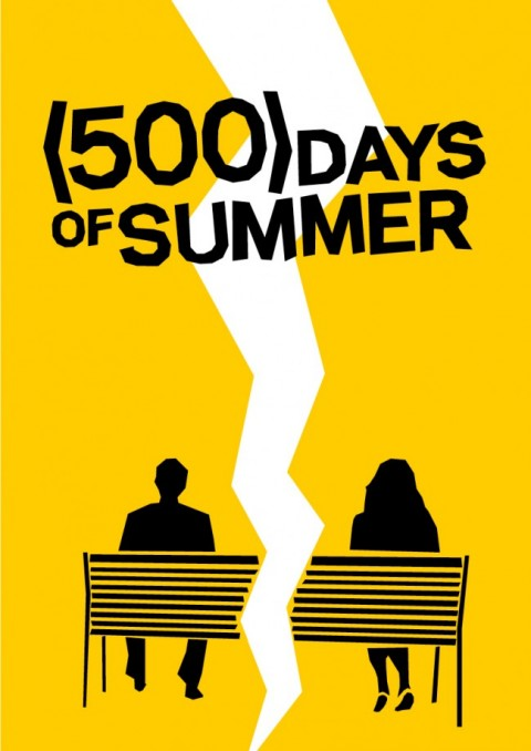 Carteles de cine muy bass mis gafas de pasta ya no est n for Architecture drawing 500 days of summer