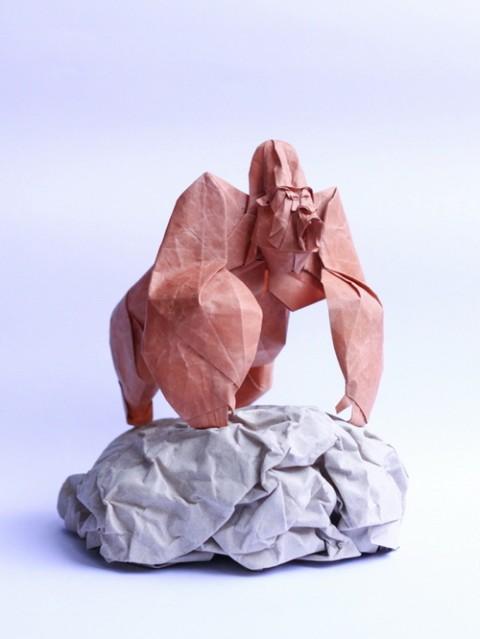 Origami Gorilla