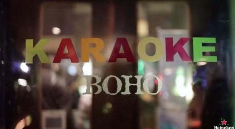 carol karaoke, la acción de heineken en directo que retransmitía tu actuación a miles de personas01