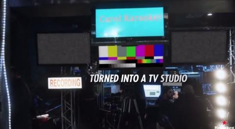 carol karaoke, la acción de heineken en directo que retransmitía tu actuación a miles de personas03