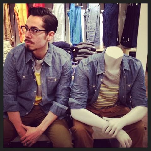 steve venegas the gap mannequin project