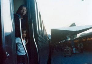 una fotografa viaja en el tiempo chino oatsuka mis gafas de pasta