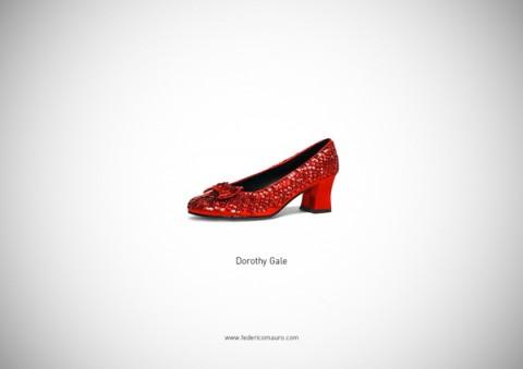 zapatos famosos dorothy gale - mis gafas de pasta