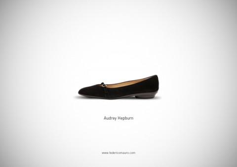zapatos famosos audrey hepburn - mis gafas de pasta