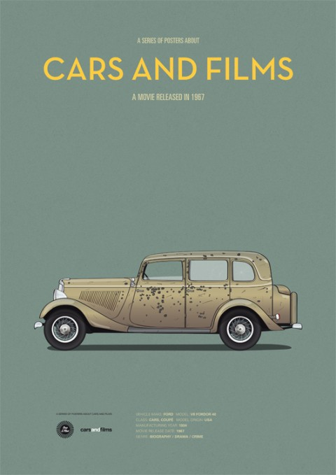 cars and films bonnie and clyde
