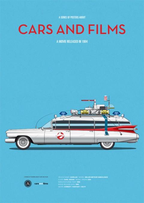 cars and films cazafantasmas