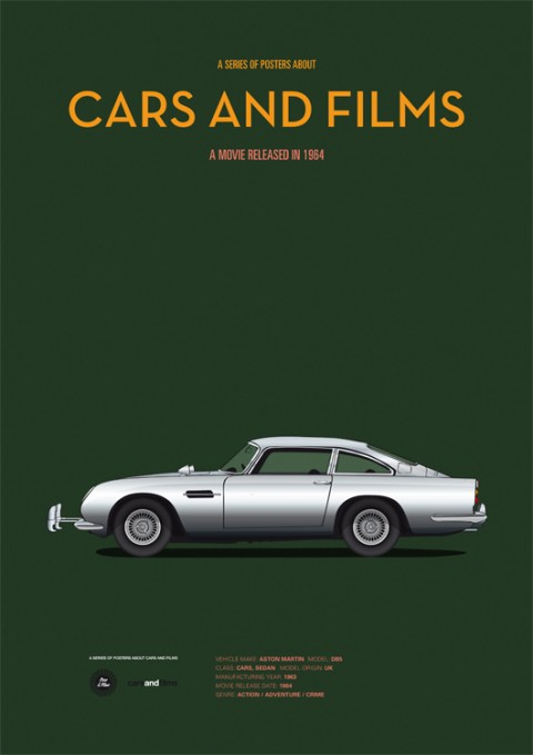 cars and films goldfinger