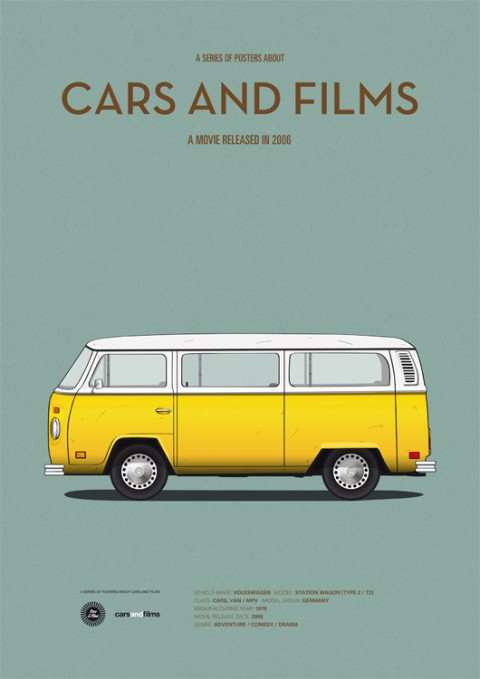 cars and films pequeña miss sunshine