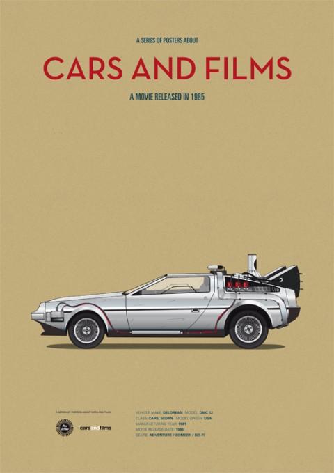 cars and films regreso al futuro