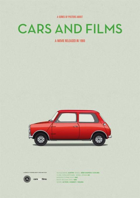 cars and films the italian job