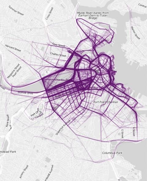 where people run - boston