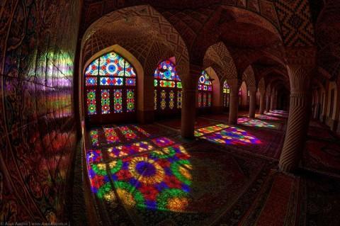 colores mezquita nasir al-molk mis gafas de pasta06