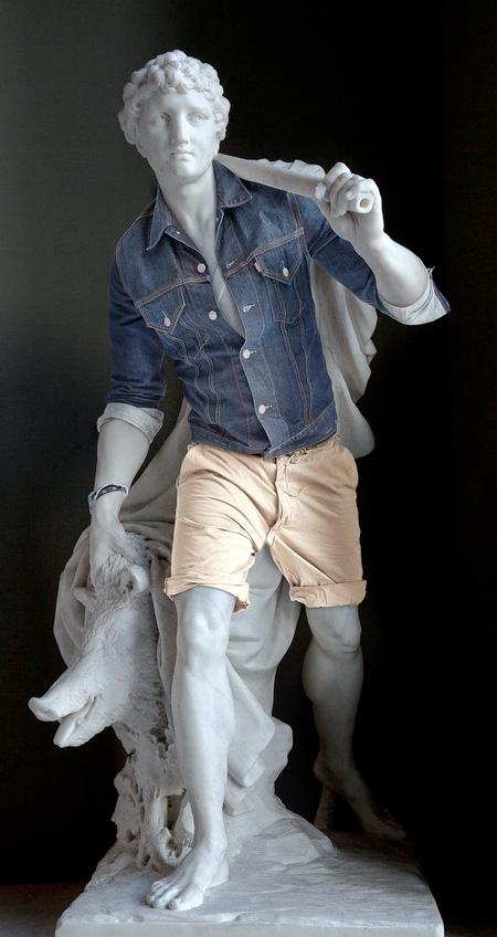 estatuas vestidas mis gafas de pasta02