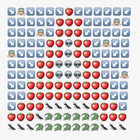alfabeto emoji a