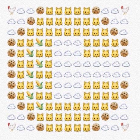alfabeto emoji c