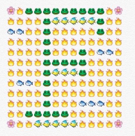 alfabeto emoji f