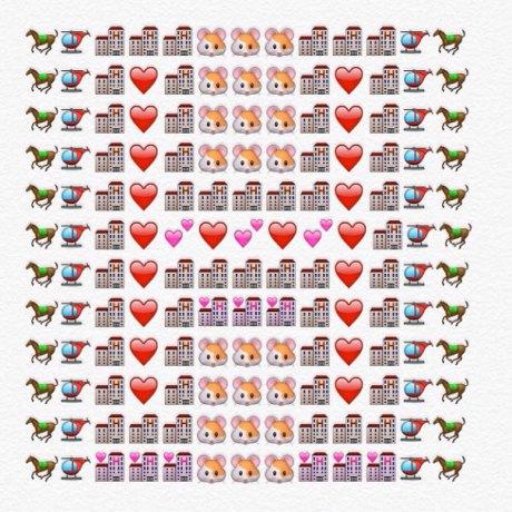 alfabeto emoji h