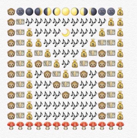 alfabeto emoji m