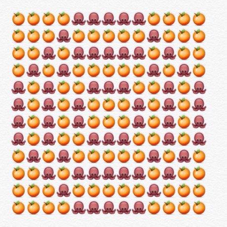 alfabeto emoji o
