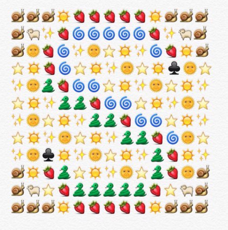 alfabeto emoji s