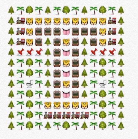 alfabeto emoji t