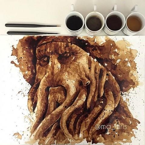 ilustrando cafe mis gafas de pasta08
