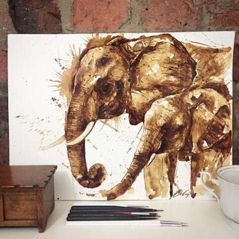 ilustrando cafe mis gafas de pasta09