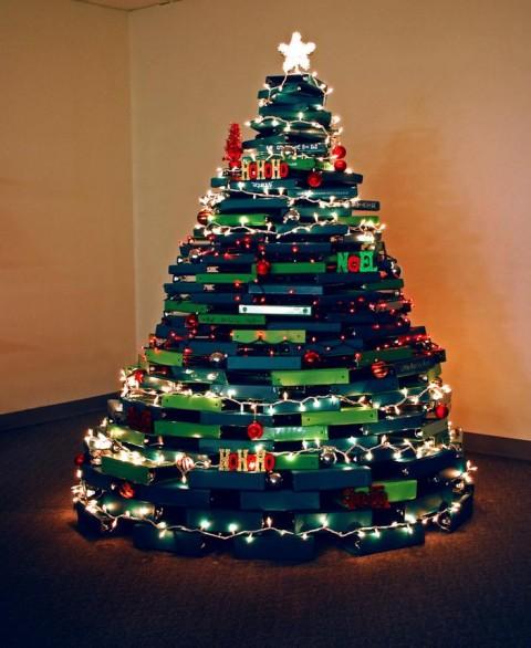 15 225 Rboles De Navidad Creativos Que Podr 237 As Tener En Casa