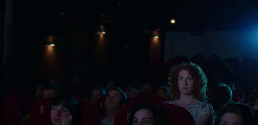 chico y chica van al cine en el nuevo anuncio de mcdonald's