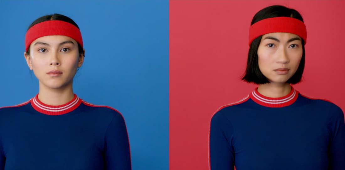 campaña ropa deportivo björn borg chicas mirando a camara