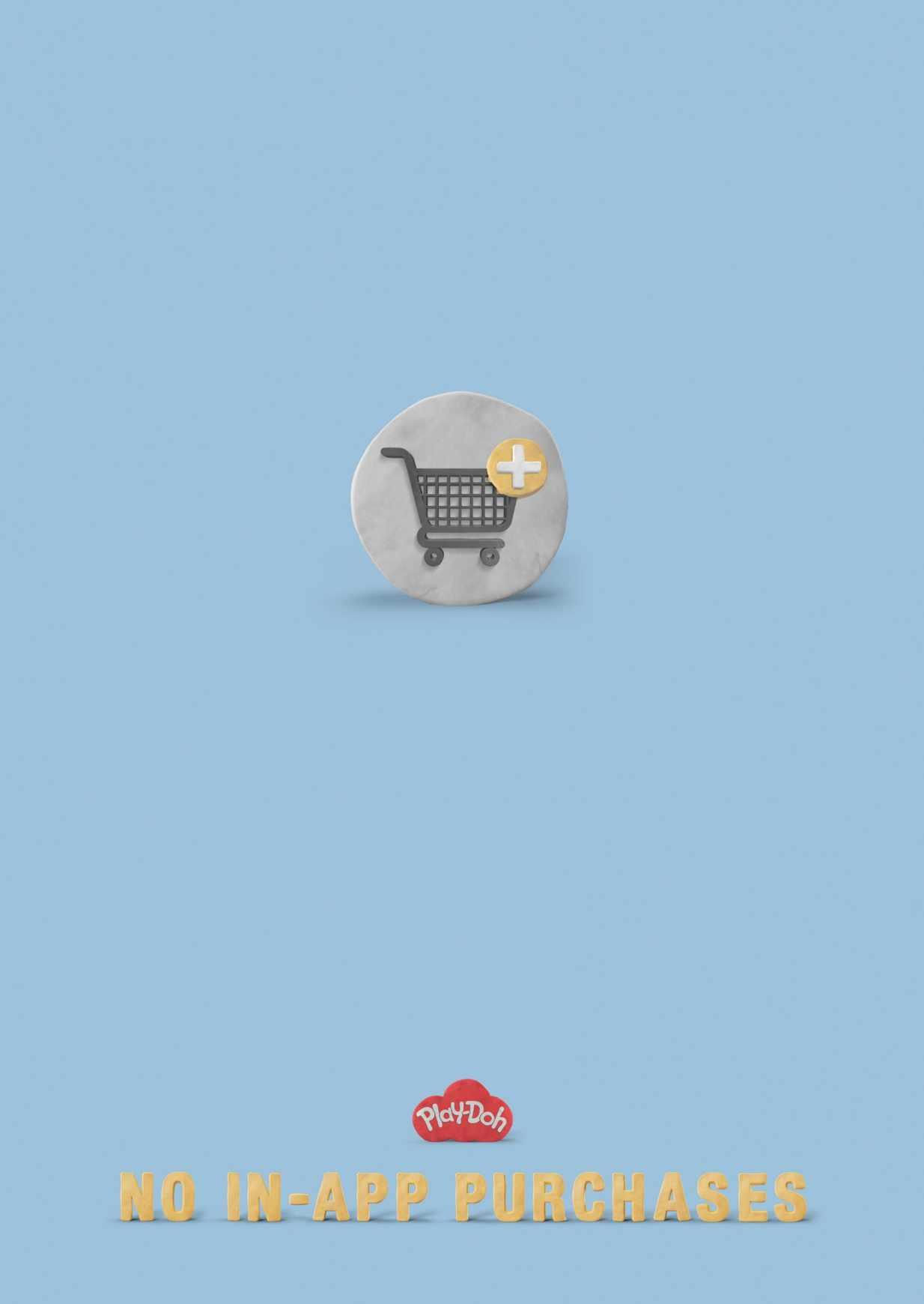 los juguetes de play doh no tienen compras dentro de la app