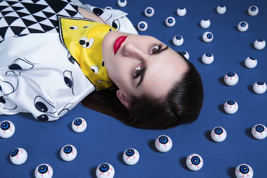 las fotografías coloristas de aleksandra kingo molan. mujer ojos