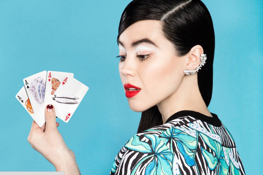 las fotografías coloristas de aleksandra kingo molan cartas