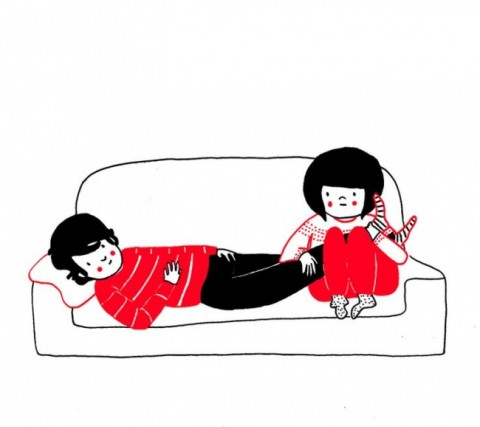 soppy philippa rice. sofa