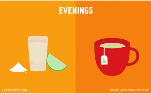 la vida antes y después de tener hijos: noches