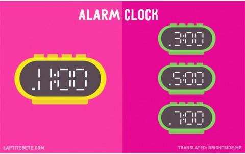 la vida antes y después de tener hijos: alarmas
