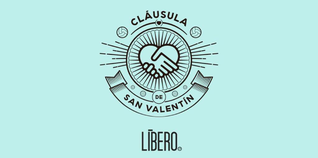 revista líbero logo cláusula san valentín