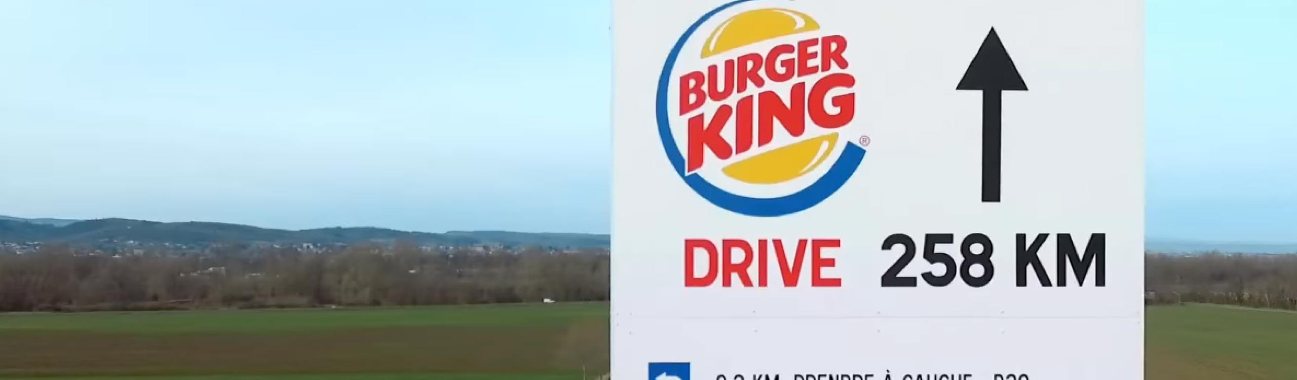 mcdonald's trollea a burger king en su último vídeo en francia