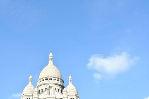 monumentos minimalistas. sacre coeur
