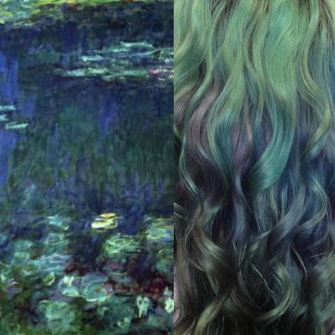 ursula goff monet pinturas lilas mis gafas de pasta