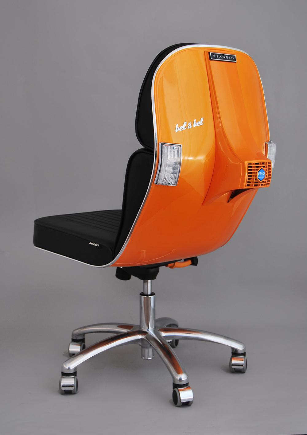 bel&bel. vespas antiguas, sillas molonas