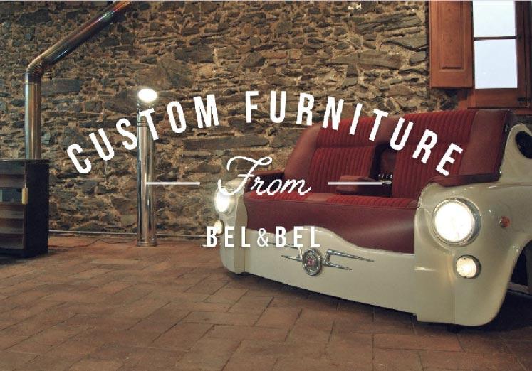 bel&bel. muebles reciclados a medida