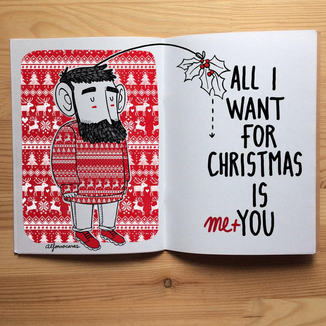 mas alfonso casas. all i want for christmas is me and you