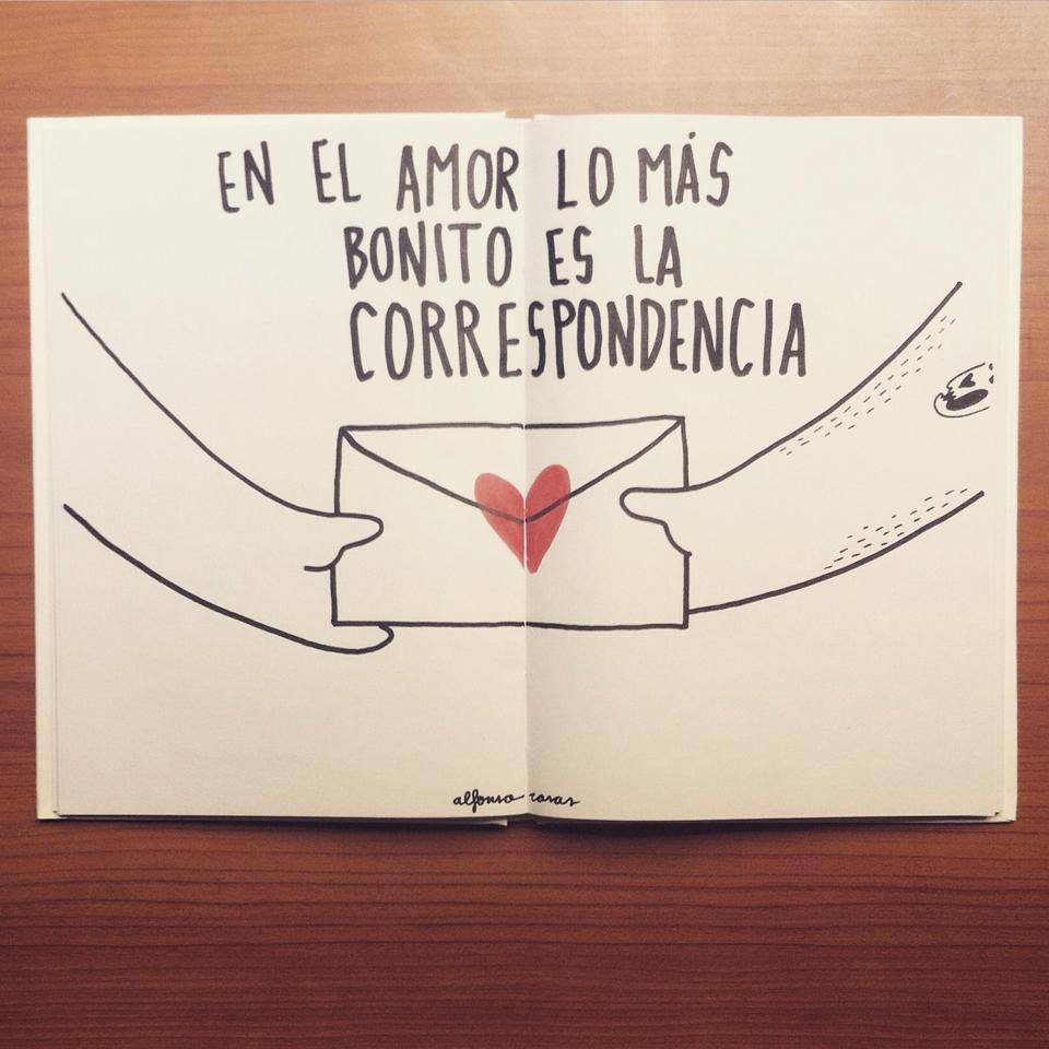 mas alfonso casas. en el amor lo mas importante es la correspondencia