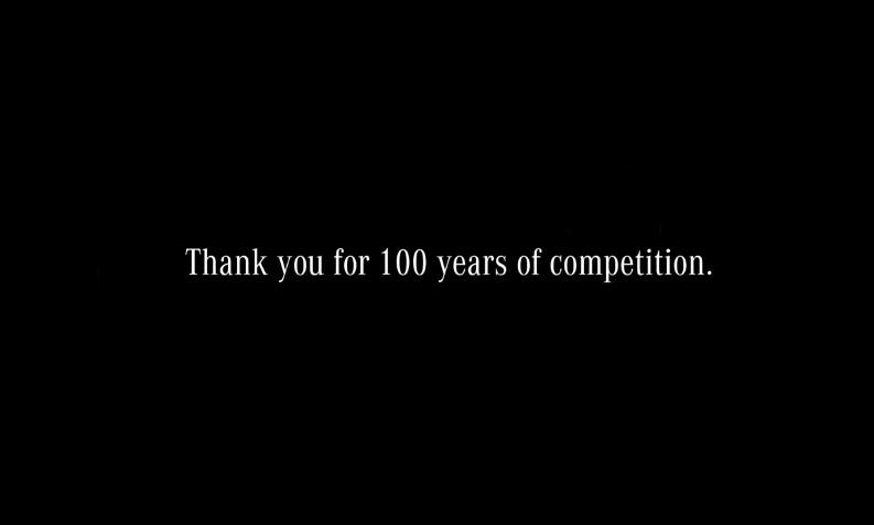 mercedes felicita a bmw por su 100 cumpleaños