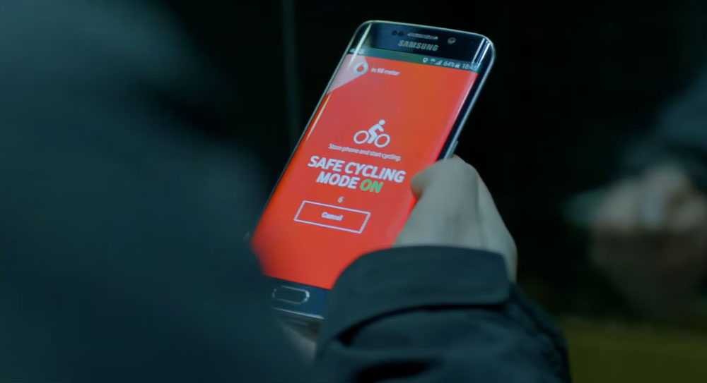 smart jacket de vodafone. app