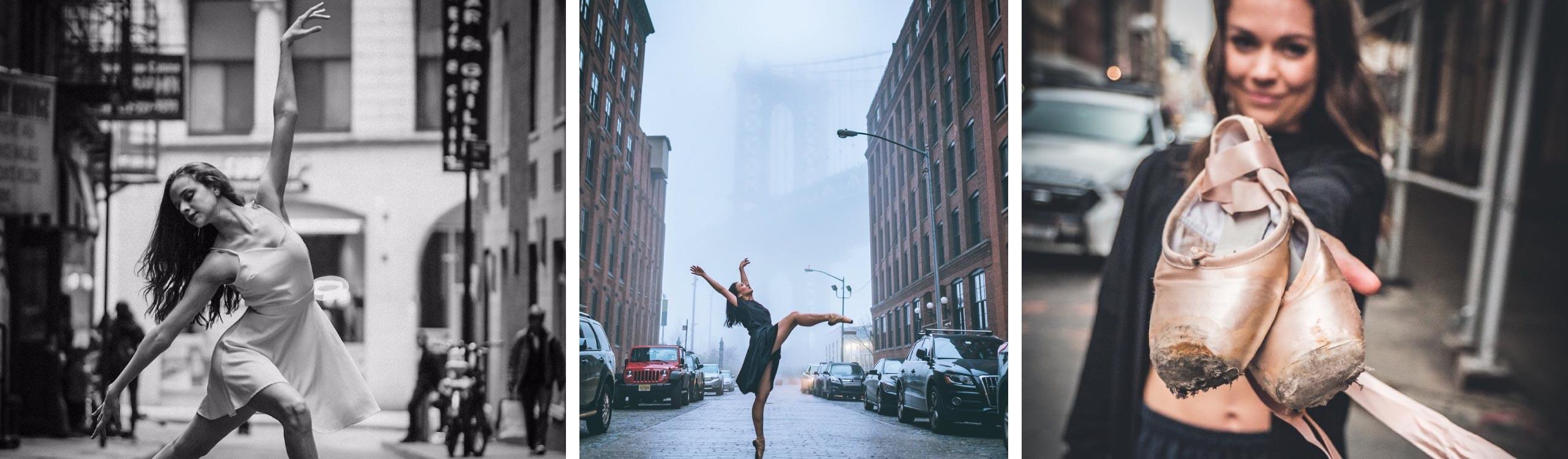el ballet salta al esfalto: las preciosas fotografías de omar z robles