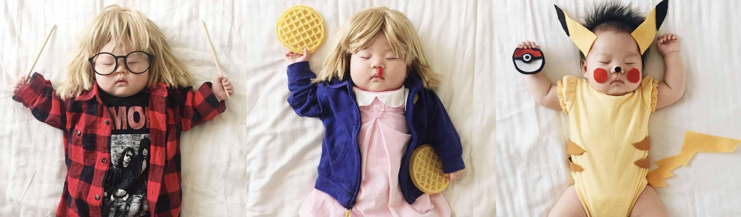 laura izumikawa, la madre que aprovechaba las siestas de su hija en instagram